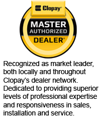 Hickman Door is proud to be a Clopay Master Authorized Dealer